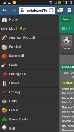 bet365 application all sports