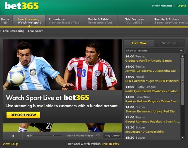 bet365 live streaming preview