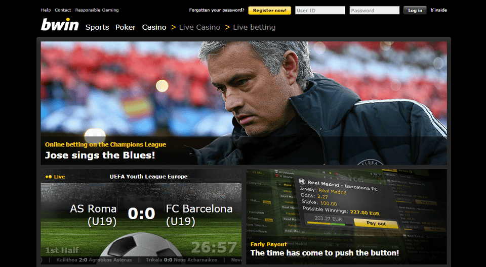 bwin bookmaker overview
