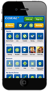 coral.co.uk mobile apps