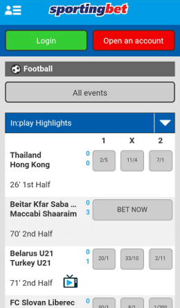 football android app sb
