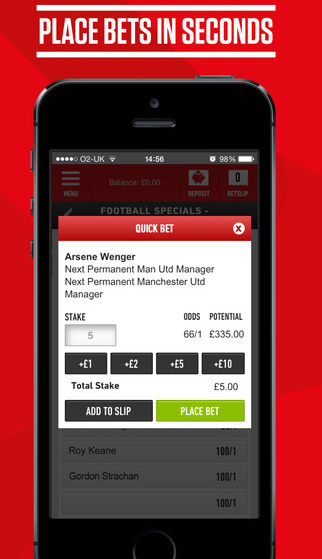 mobile all for iOS devices - Ladbrokes