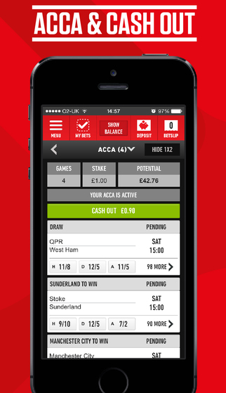 iphone application for Ladbrokes