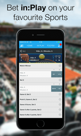 sportingbet iphone and ipad  app