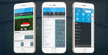 sportingbet mobile apps for Android and iOS