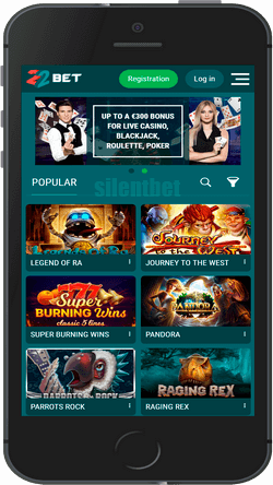 22Bet mobile casino for iPhone