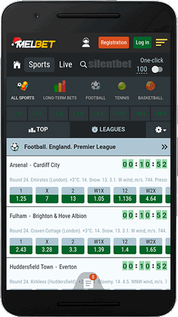 Melbet mobile sports betting