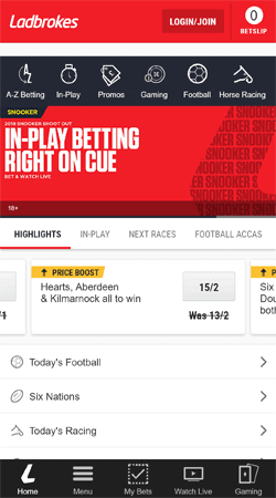Ladbrokes Mobile App for Android or iOS - Download & Install (2019)