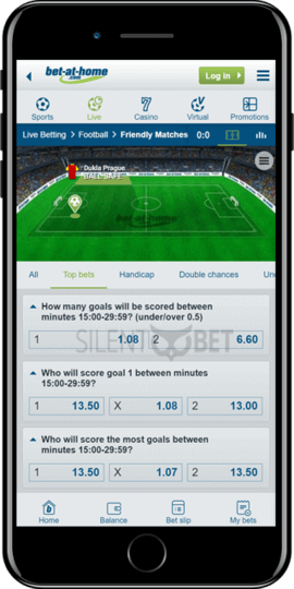 bet at home ios app live soccer betting