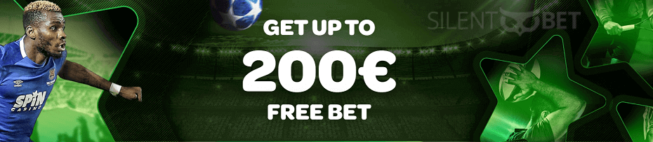 SpinSports welcome bonus free bet