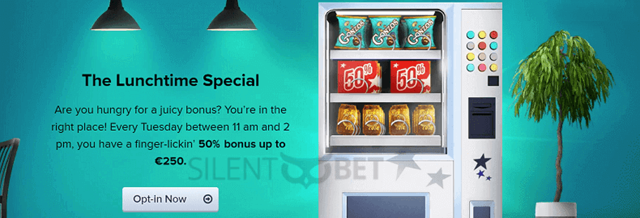 casinoeuro lunchtime special