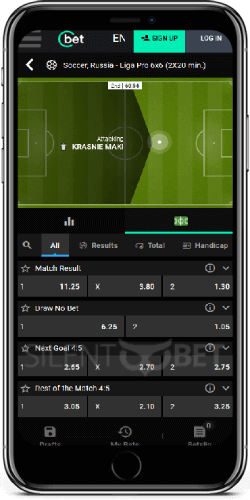 Cbet mobile sports betting on iPhone