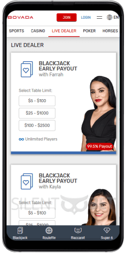 Bovada Mobile Casino Version App For Android And Ios 2020