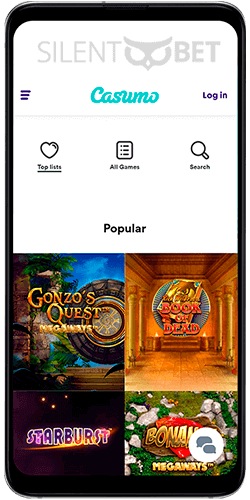 Casumo casino games for Android