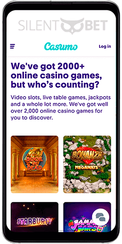 Casumo casino mobile app for Android