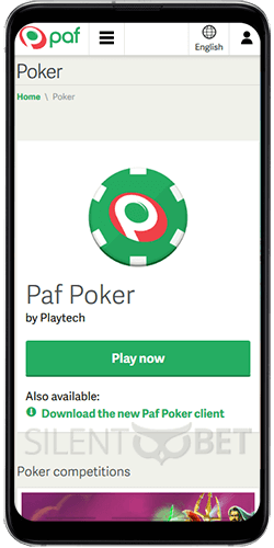Paf Poker on Android