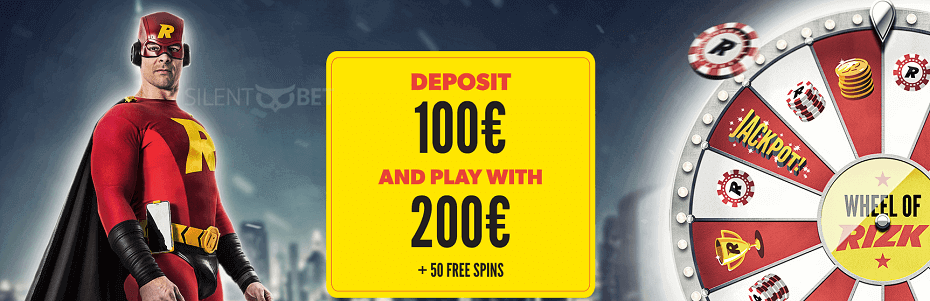 Rizk casino signup offer