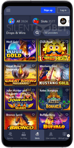 BetMaster Casino Drops on Android