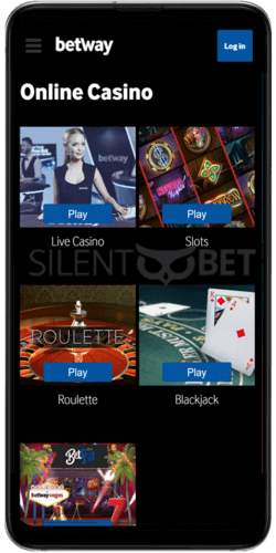 betway casino android app games