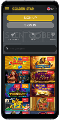 Golden Star Casino Games on Android