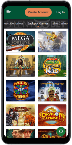 Mr Green Casino Jackpots on Android