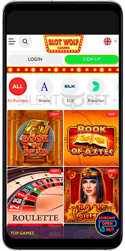 Slot Wolf casino games for Android