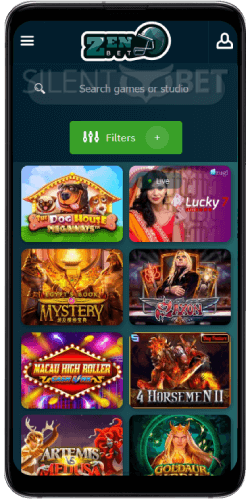 ZenBetting Casino Games on Android