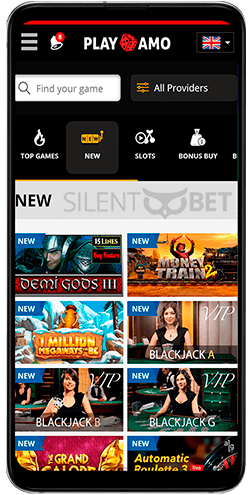 Playamo casino app for Android