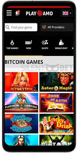Playamo crypto games for Android