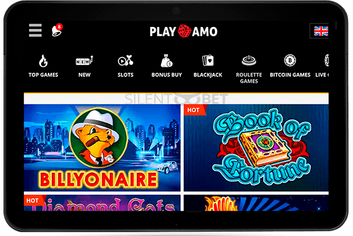 Playamo casino mobile version for tablet