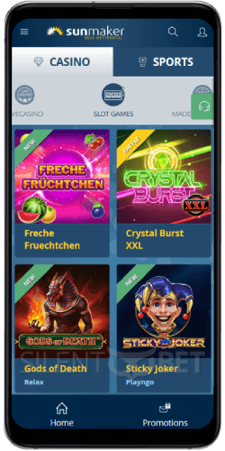 Sunmaker Casino Slots on Android