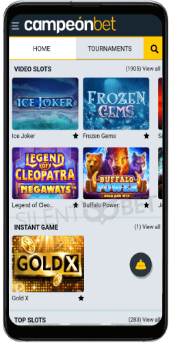 campeonbet android app video slots