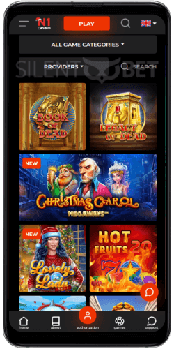 N1 Casino Mobile Version