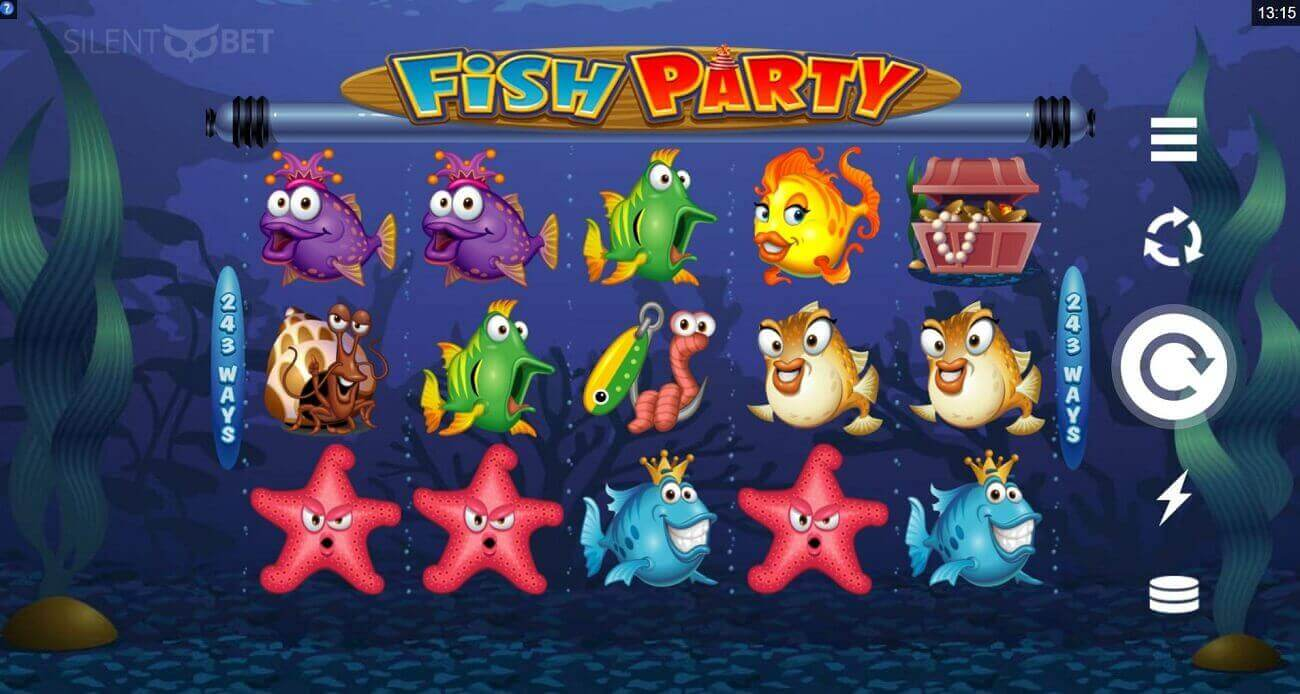 Fish party gameplay