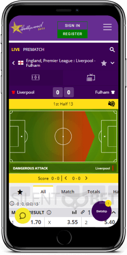 Hollywoodbets mobile live betting