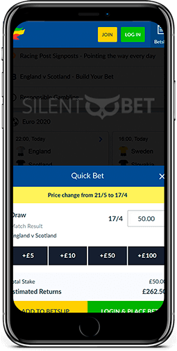 Coral mobile bet for iPhone