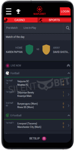 maplebet android app sports betting