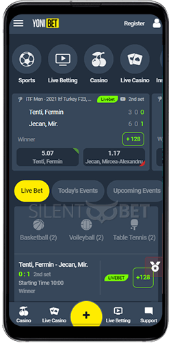 Yonibet Sports Betting for Android